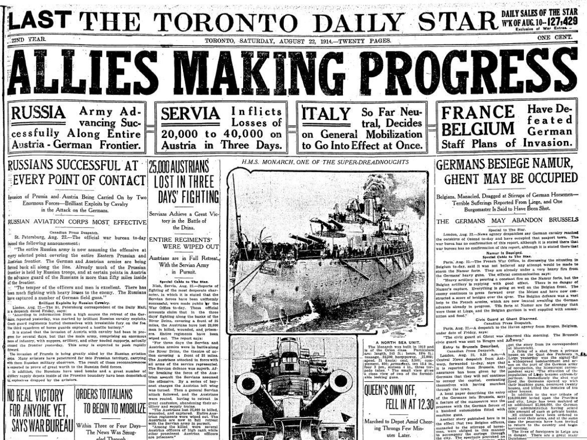 Newspaper_Allies-make-Progess---8.22.1914